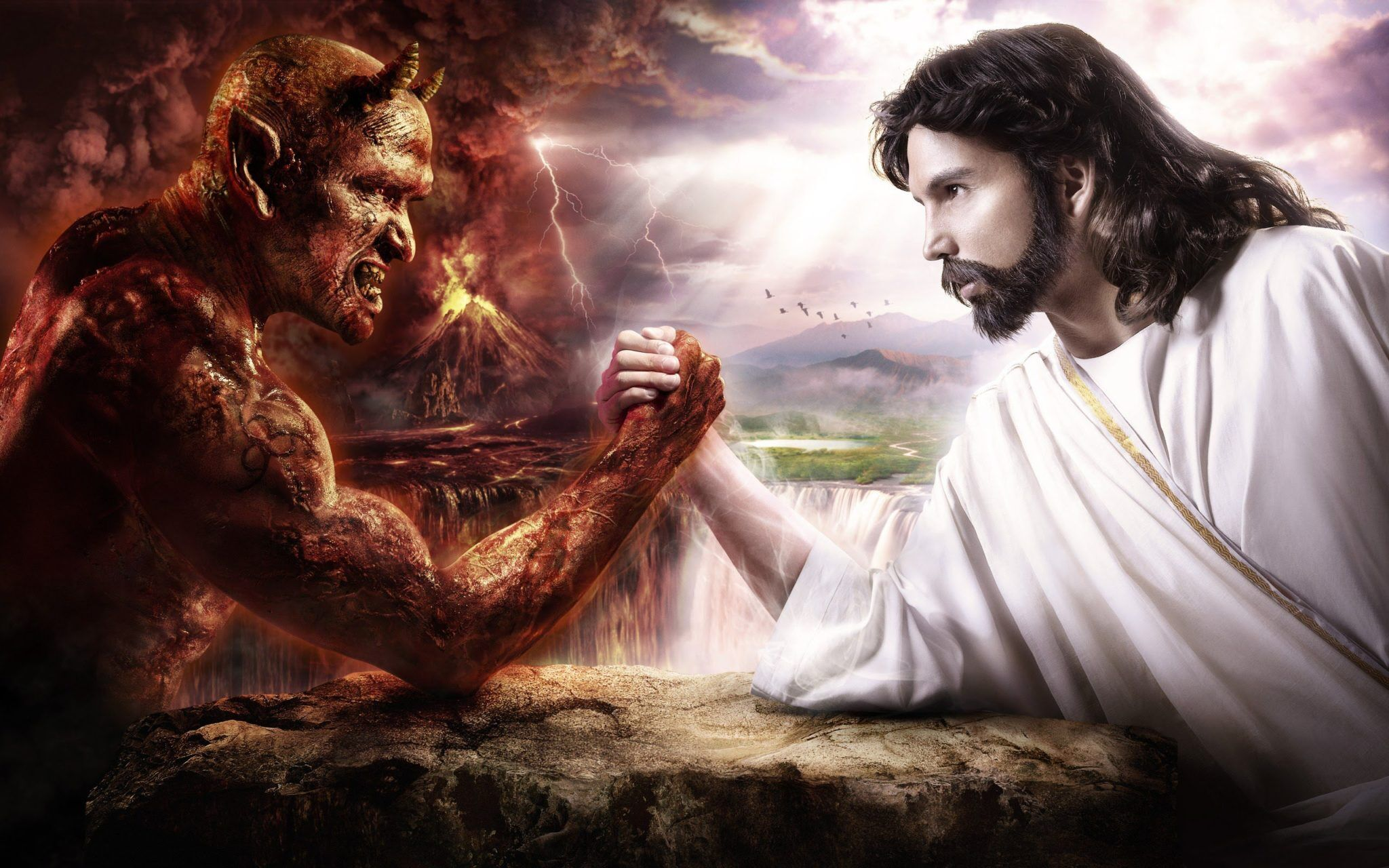 Why does Satan get a bad rap when God has done the crimes?