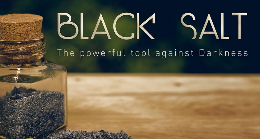 How to make black salt for use in magic spells - Black Witch Coven