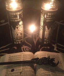 D U M E  Candle Altar Burning Ritual