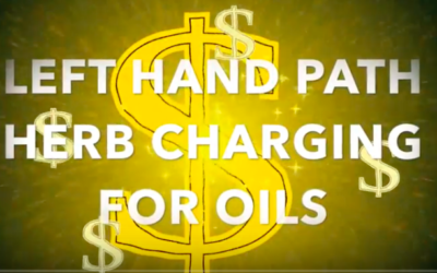 Left hand path money magic – Charging of herbs with planetary and elemental influences