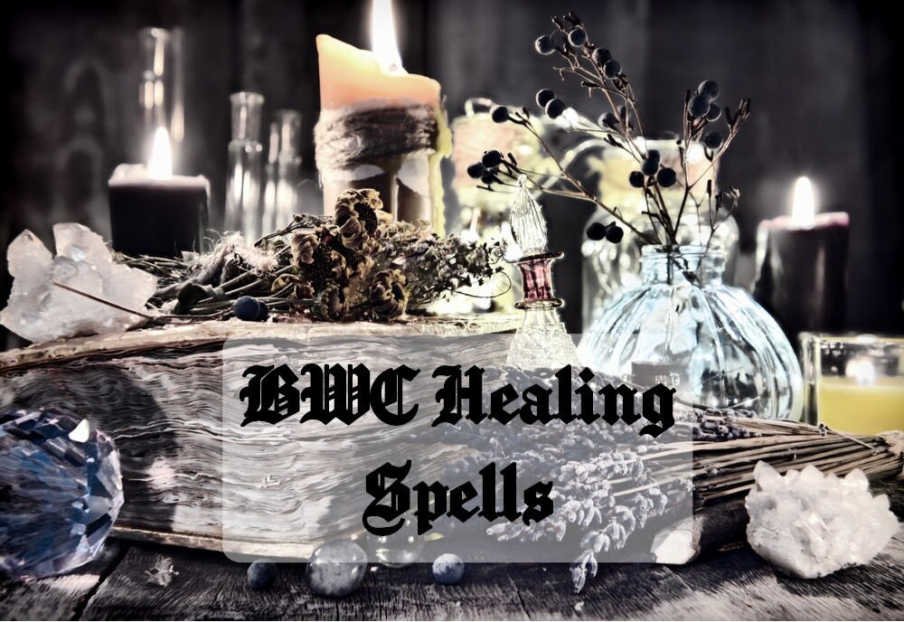 Healing Spells - Black Witch Coven