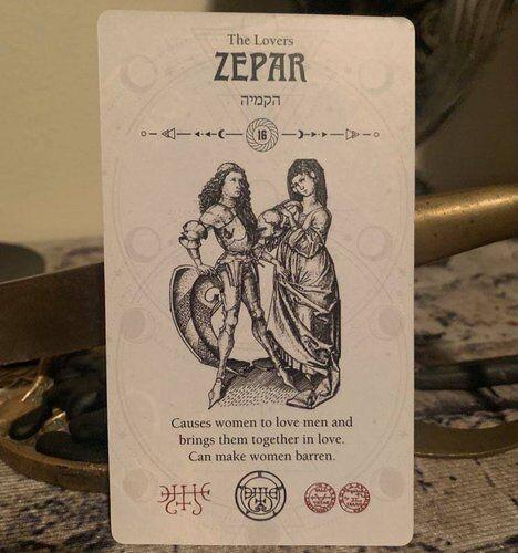 zepar occult tarot