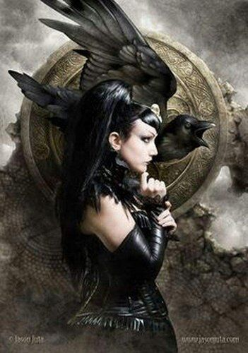 Prayer to the Morrigan for Protection